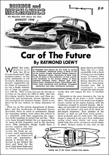 Car of The Future Article