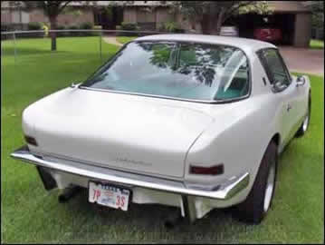 1963 Studebaker Avanti Rear View