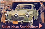 Bullet Nose Studebakers