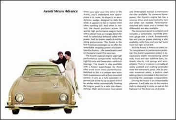 Avanti Means Advance