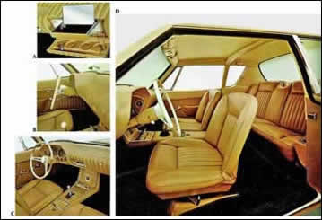 Avanti Dash and Bucket Seats
