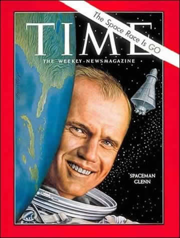 Glenn on Time Cover