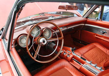 Chrysler Turbine Interior