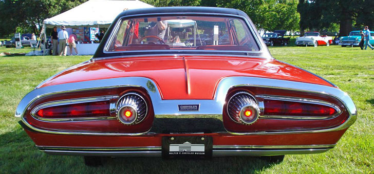 Chrysler Turbine Rear View