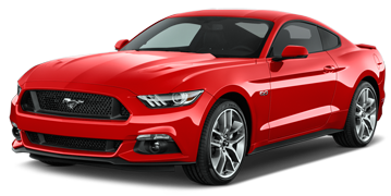 2017 Mustang Front